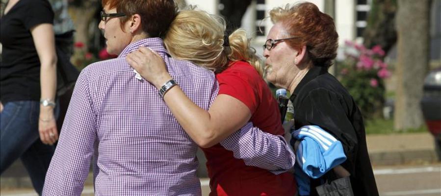Badajoz celebra el funeral por los cinco niños fallecidos en el accidente de autobús