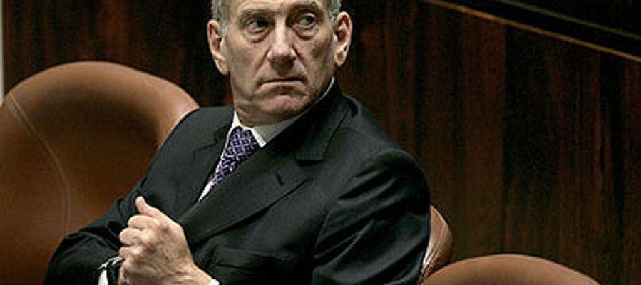 El ex primer ministro israelí Ehud Olmert.
