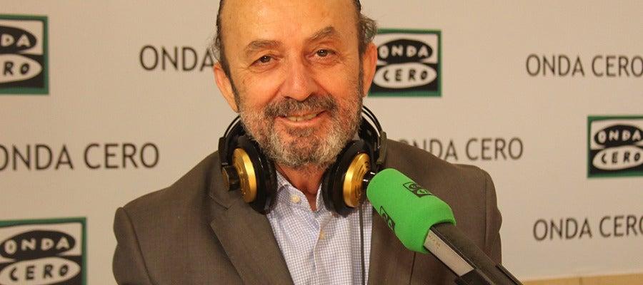 Lorenzo Díaz, en el día de su reincorporación a Onda Cero
