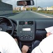 Examen de conducir.