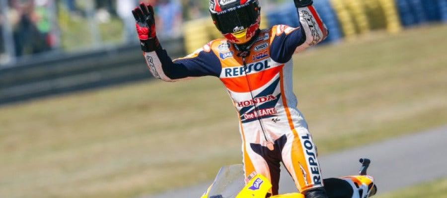 Marc Márquez gana en el GP de Le Mans