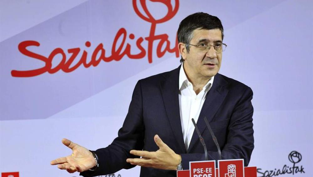 El secretario general del PSE, Patxi López