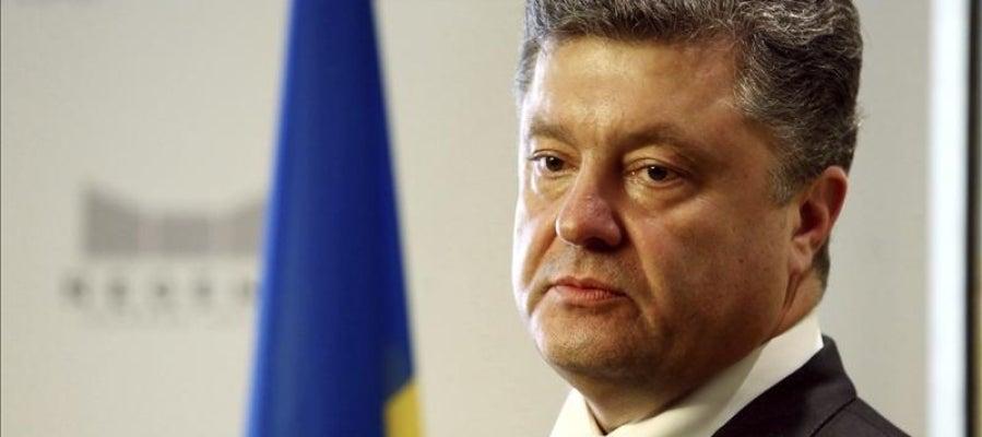 El presidente electo de Ucrania, Petró Poroshenko.