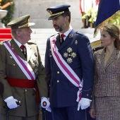 El Rey y los Príncipes de Asturias el Día de las Fuerzas Armadas