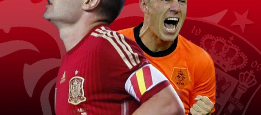 España - Holanda