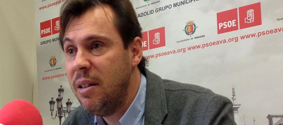 El presidente del Grupo Municipal Socialista, Óscar Puente