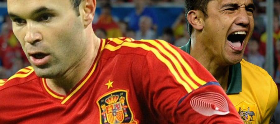 España - Australia en Radioestadio