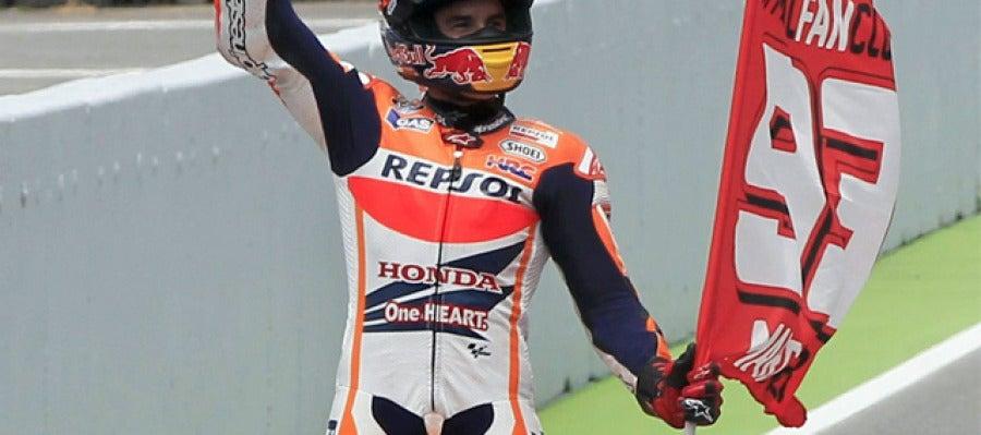 Marc Márquez logra la victoria en el GP de Cataluña