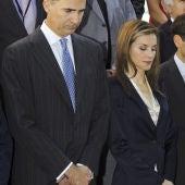 Los Reyes, con las víctimas del terrorismo