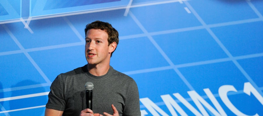 Mark Zuckerberg, creador de Facebook