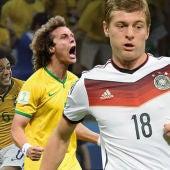Imagen Brasil - Alemania semifinal Mundial