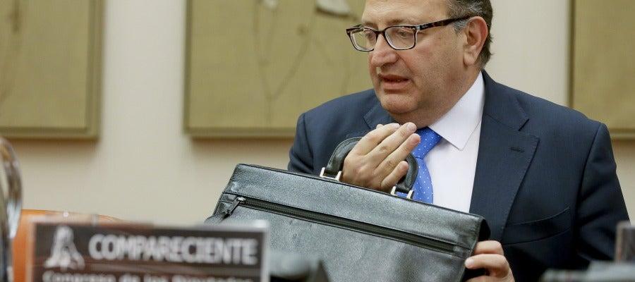 El presidente del Tribunal de Cuentas, Ramón Álvarez de Miranda