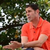El exfutbolista Fernando Hierro