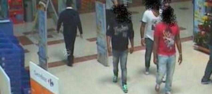 cae una banda que robaba en centros comerciales