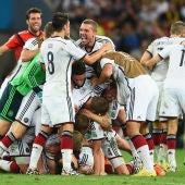 Alemania se convierte en la ganadora de la copa del mundo Brasil 2014