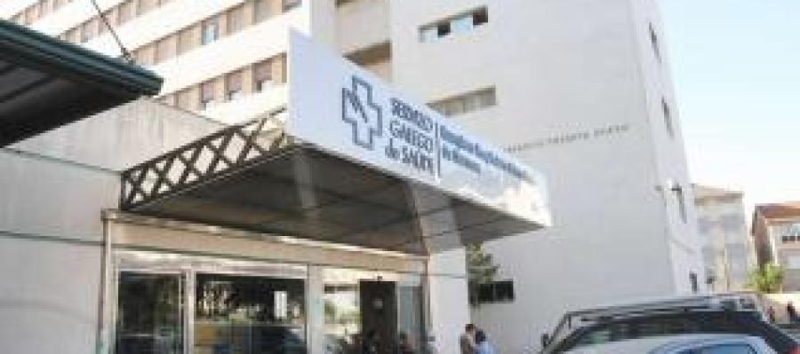 Edificio do Hospital Cristal, que desaparecerá coa nova obra de remodelación.