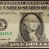 Billete de un dólar