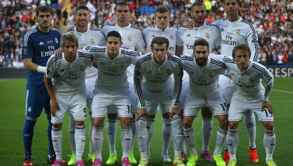 El Real Madrid, en la Supercopa de Europa