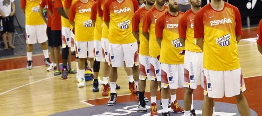 La selección española de baloncesto