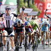 John Degenkolb ganador de una etapa de la Vuelta, hace unos años