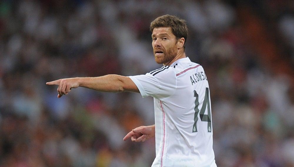 Xabi Alonso pone fin a una etapa de cinco años en el Real Madrid