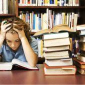 Persona estudiando