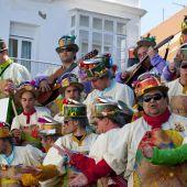Una charanga del Carnaval de Cádiz