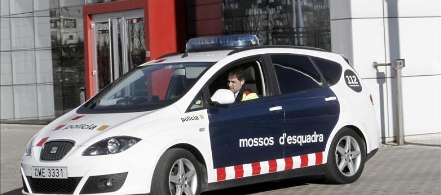 Coche patrulla de los Mossos d'Esquadra