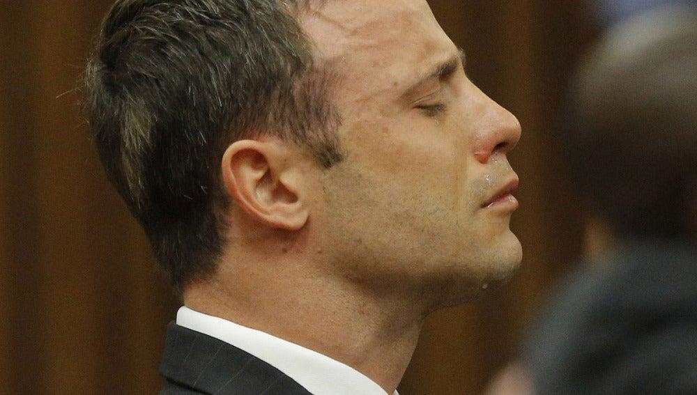 Oscar Pistorius durante el juicio