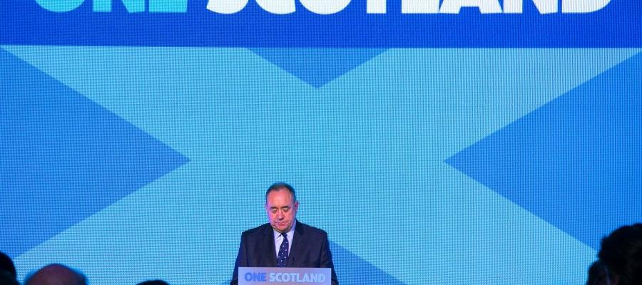 Alex Salmond, tras el 'no' de Escocia a la independencia