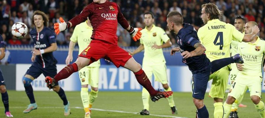Verrati anota el segundo gol del PSG
