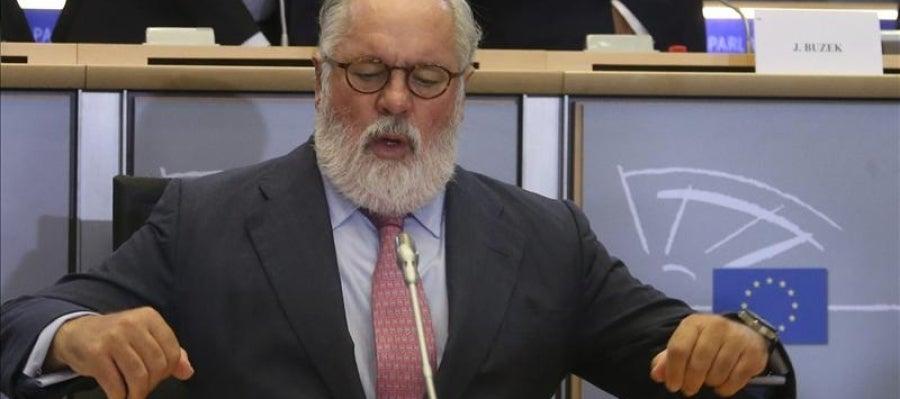 Miguel Arias Cañete ante el Parlamento Europeo