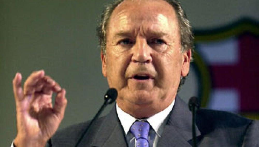 Josep Lluis Núñez, expresidente del FC Barcelona