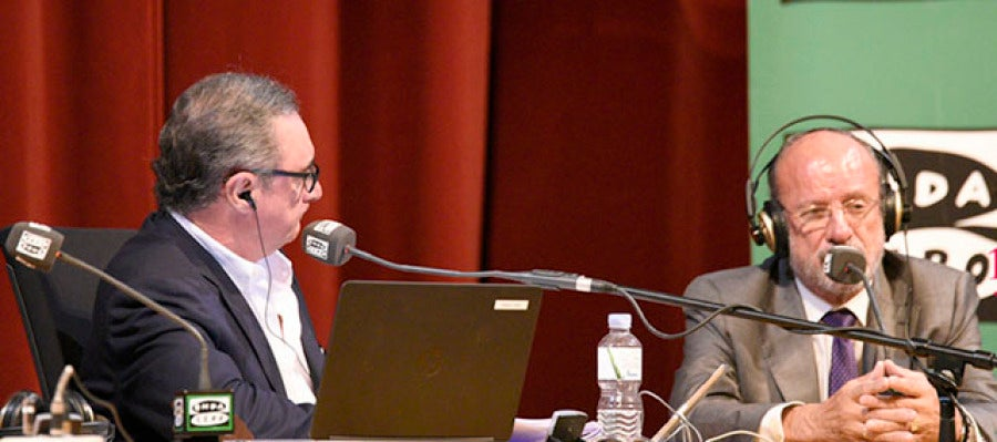 Carlos Herrera con Javier León de la Riva
