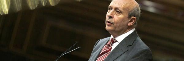 Jose Ignacio Wert defiende la Ley de Propiedad Intelectual