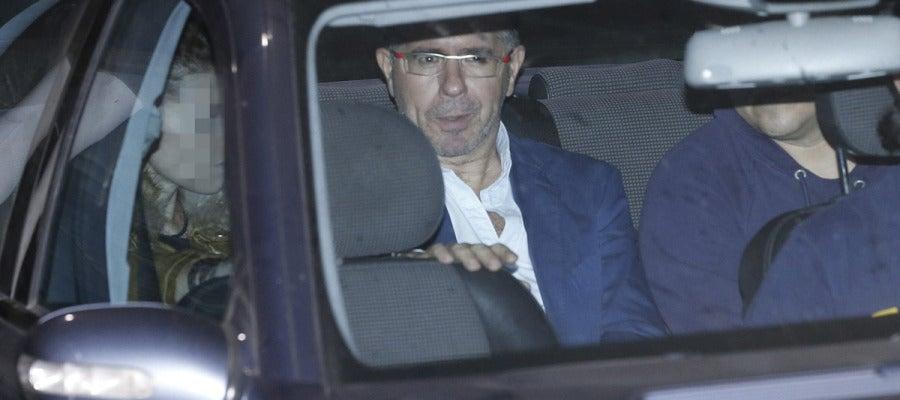 Francisco Granados regresa al calabozo