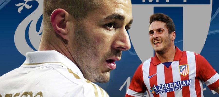 Real Madrid - Liverpool y Malmoe - Atlético de Madrid