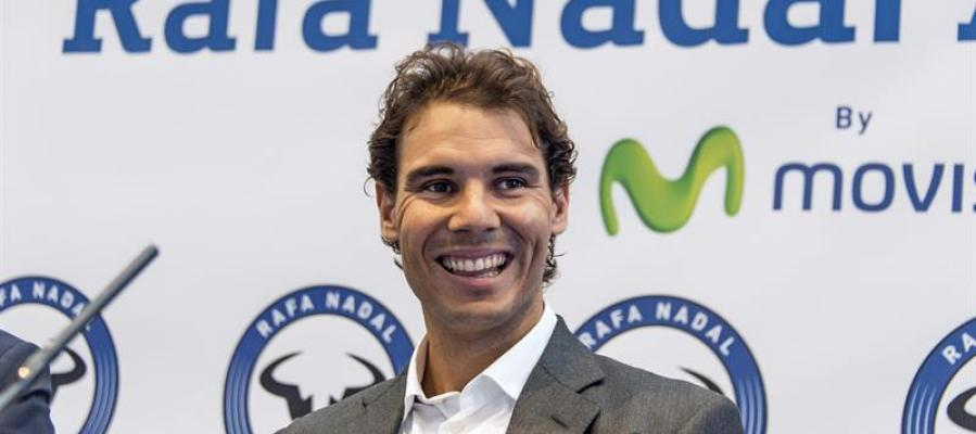 Rafa Nadal presenta su academia de tenis