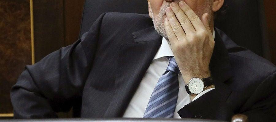 Mariano Rajoy, en el Congreso