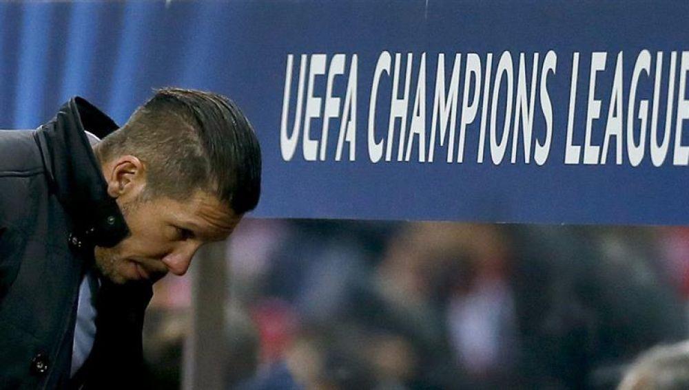 Simeone en la Liga de Campeones
