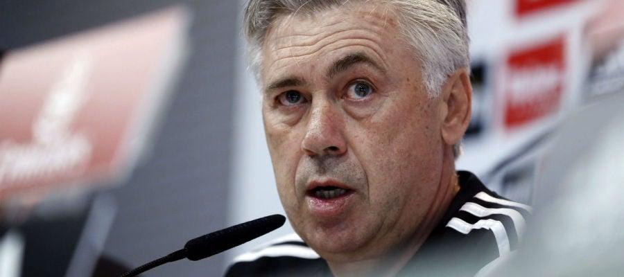 Ancelotti, en rueda de prensa