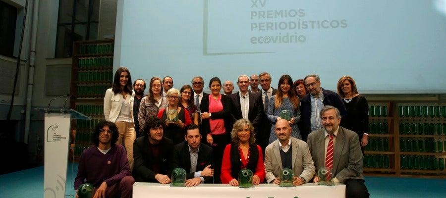 La XV Premios Periodísticos de Ecovidrio premian a Hazte Eco y a Julia Otero