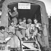 Biblioteca móvil en la II Guerra Mundial