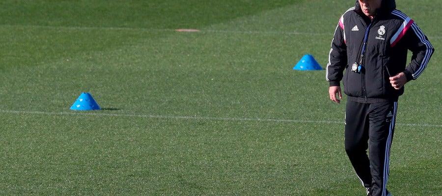 Ancelotti, en Valdebebas