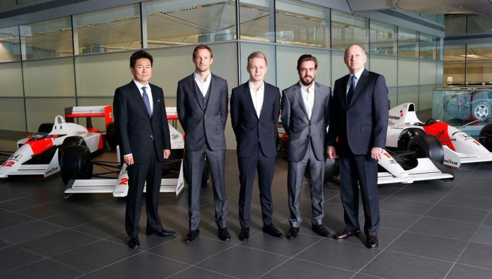 McLaren anuncia el fichaje de Alonso