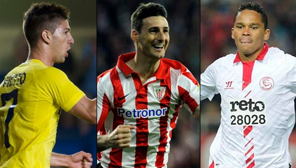 Villarreal, Athletic y Sevilla en la Europa League