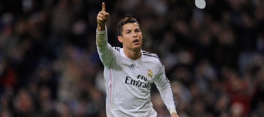 Cristiano Ronaldo suma y sigue con su racha goleadora en el Real Madrid