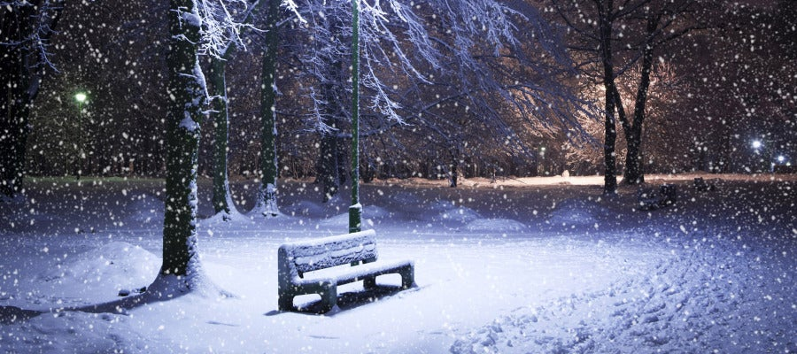 Paisaje nevado en invierno