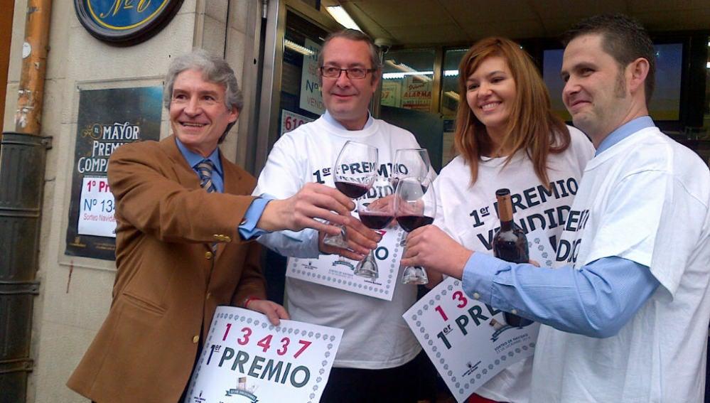 """Cae """"El Gordo"""" 2014 en Logroño"""