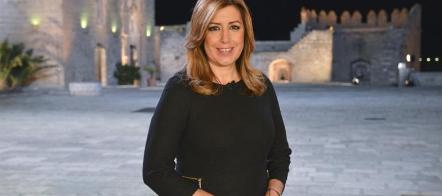 Susana Díaz en el discurso de fin de año